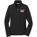 Ladies Core Soft Shell Jacket w/ Frosted Mug Logo