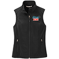 Ladies Core Soft Shell Vest w/ Frosted Mug Logo