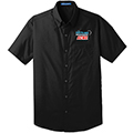 Port Authority  UNISEX Short Sleeve Carefree Poplin Shirt