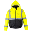 HIVIS two tone Bomber w/ 5k stitches
